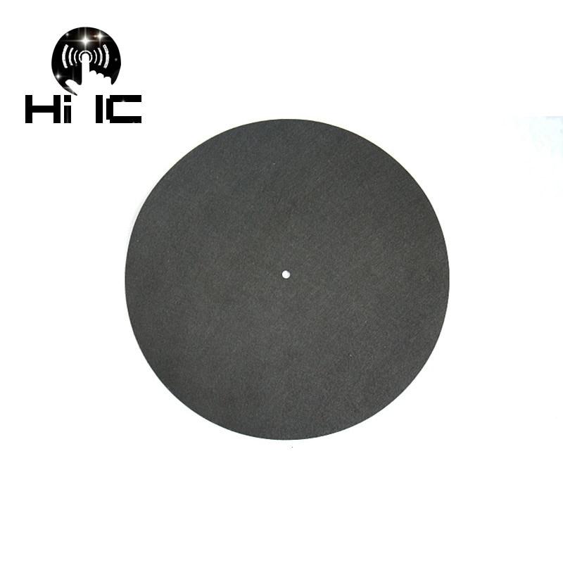 Plattenspieler Fühlte Plattenspieler Platter Matte Lp Slip Matte Audiophile 3mm Dicke Für Lp Vinyl Rekord Unterhaltungselektronik