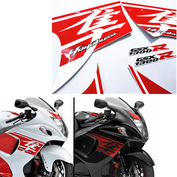 pieces of high quality hayabusa for suzuki motorcycle decal stickers 4 color gsxr1300 2009 2019year