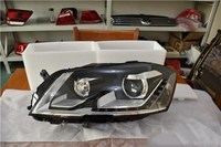 eOsuns halogen headlight assembly for volkswagen passat B6 2012 2016