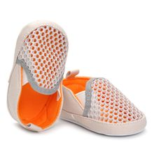 Summer Newborn Baby Girl Boys Soft Shoes Toddler Baby Boys Girls Elastic Solid Mesh Soft Casual Shoes Non-slip Crib First Walker(China)