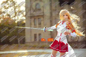 Image 5 - Asuna Cosplay Costume Anime Cosplay Clothes Sword Art Online Cosplay Stock Size S, M, L, XL