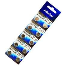 Дешево с фабрики Горячая часы Батарея 10 шт. 1,55 V AG10 LR54 LR1130 L1131 389 189 щелочные батареи таблеточного монета