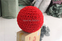 RED Wedding Kissing Flowers Balls Wedding & Valentine's day & Home decorations FREE SHIPPING