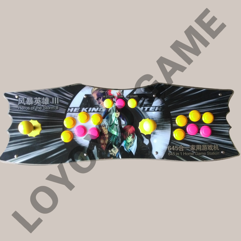 high quality with 645 in 1 multi game arcade box Upgraded Version Arcade  game box with VGA and HDMI wires english or korean board game risk 2nd version full english version high quality very suitable for the party and family