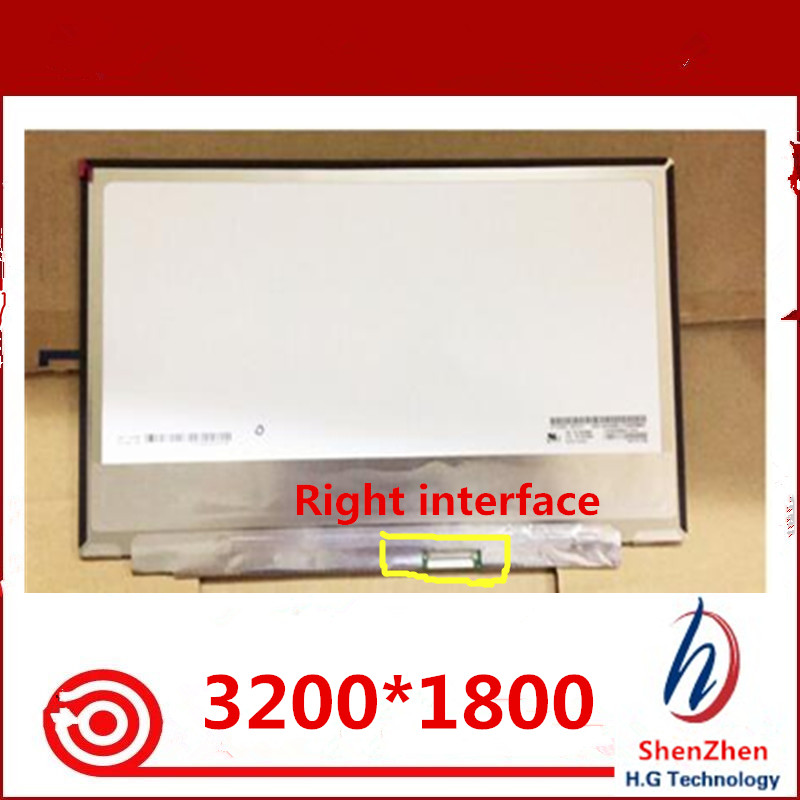 100% test well 13.3 laptop LCD screen LP133QD1 SPA1 LP133QD1-SPA1 LP133QD (SP)(A1) 3200*1800 full IPS screen100% test well 13.3 laptop LCD screen LP133QD1 SPA1 LP133QD1-SPA1 LP133QD (SP)(A1) 3200*1800 full IPS screen