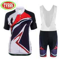 TVSSS 2017 New Cycling Clothing Cycling Jersey Cycling Shorts MTB Shorts Cycling Jersey Sets Women's And Men's