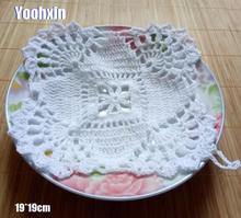 Modern cotton lace table place mat crochet coffee placemat pad Christmas glass drink coaster cup mug tea dining doily kitchen vintage cotton lace table place mat crochet coffee placemat pad glass drink coaster cup mug tea dining christmas doily kitchen