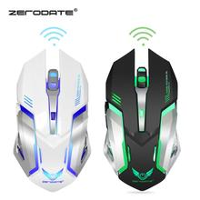 DASENLON STORE Zerodate Gaming Mouse,  2.4GHz Wireless Mouse Built-in with 600 mAh Rechargeable Battery