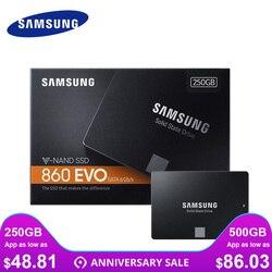 سامسونج SSD 850 120 GB 860 EVO 250 GB 500 GB 1 تيرا بايت الداخلية أقراص بحالة صلبة HDD القرص الصلب SATA3 2.5 بوصة محمول سطح المكتب TLC PC القرص