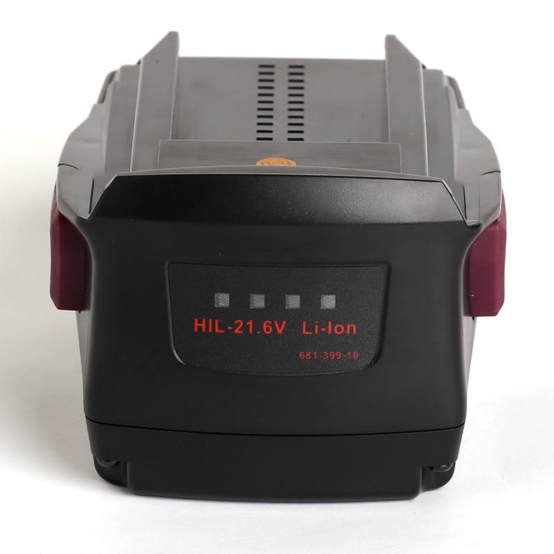 for Hilti 21.6V Li-ion 4000mAh SFH18-A SF-18A TE4-A22 TE2-A22 SIW22T-A SCM22-A