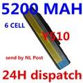 Frete grátis! bateria do portátil forfor lenovo 3000 y500 y510 v550 y530 y710 y730 45j7706 asm 121000649 fru 121ts0a0a