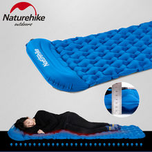 Naturehike Outdoor Camping Mat Inflatable กระเป๋าเต็นท์ Inflatable Sleeping Pad Ultralight แบบพกพา Air Mat Camping ปิกนิก Pad(China)