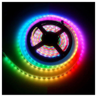 1 Roll 5050 RGB LED Strip 5M 300 Leds DC 5V Waterproof Black