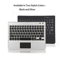 Multifunctional Super Thin Slim Aluminum Bluetooth Keyboard For Laptop Fit For 7 8 9 10 Inch