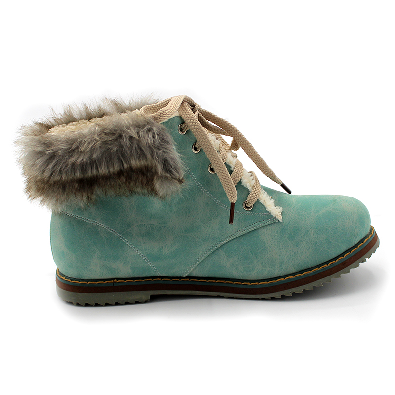 Best selling!! Lace UP Plush Ankle Snow boots For women High help Sports shoes Western boots Free Shipping