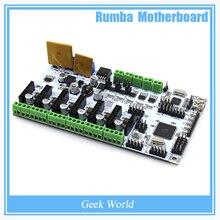 BIQU Rumba Pour 3D imprimante carte mère rumba MPU/3D imprimante accessoires RUMBA optimisé version Tableau de commande