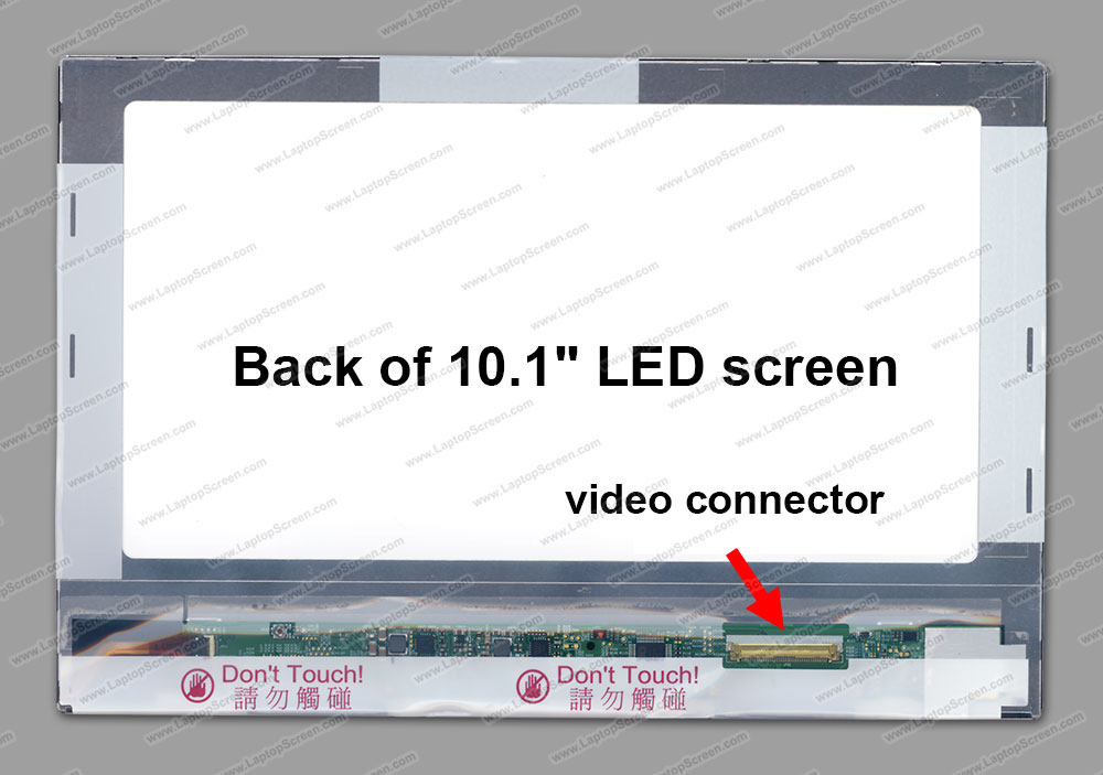 ФОТО QuYing Laptop LCD Screen for ACER ONE 10 S1002 SERIES (10.1 inch 1280x800 40pin IPS TK)