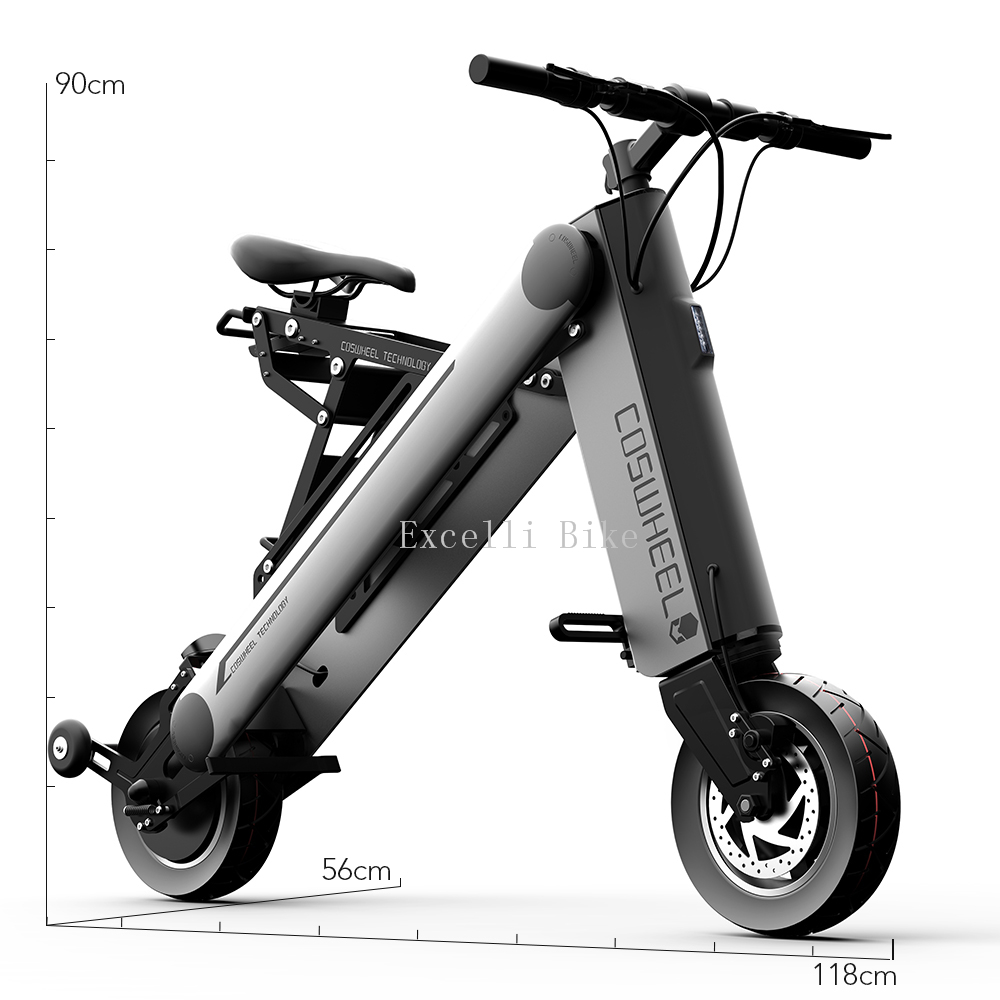 10 inches Electric scooter Smart city walking electric font b bicycle b font mini font b