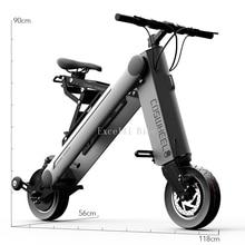 10 inches Electric scooter Smart city walking electric bicycle mini folding electric bike instead walking tool 36v li-ion ebike