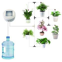 Nowy słoneczna Autowatering nawadniania kropelkowego System roślina zestaw Irrigazione Automatica komponentów zegar podlewania nawadniania automatyczne podlewanie roślin Zestawy do podlewania Dom i ogród -