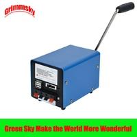High Power Dynamo Charger Portable Emergency Hand Power Hand Crank USB Charging Emergency Survival Crank Hand Generator