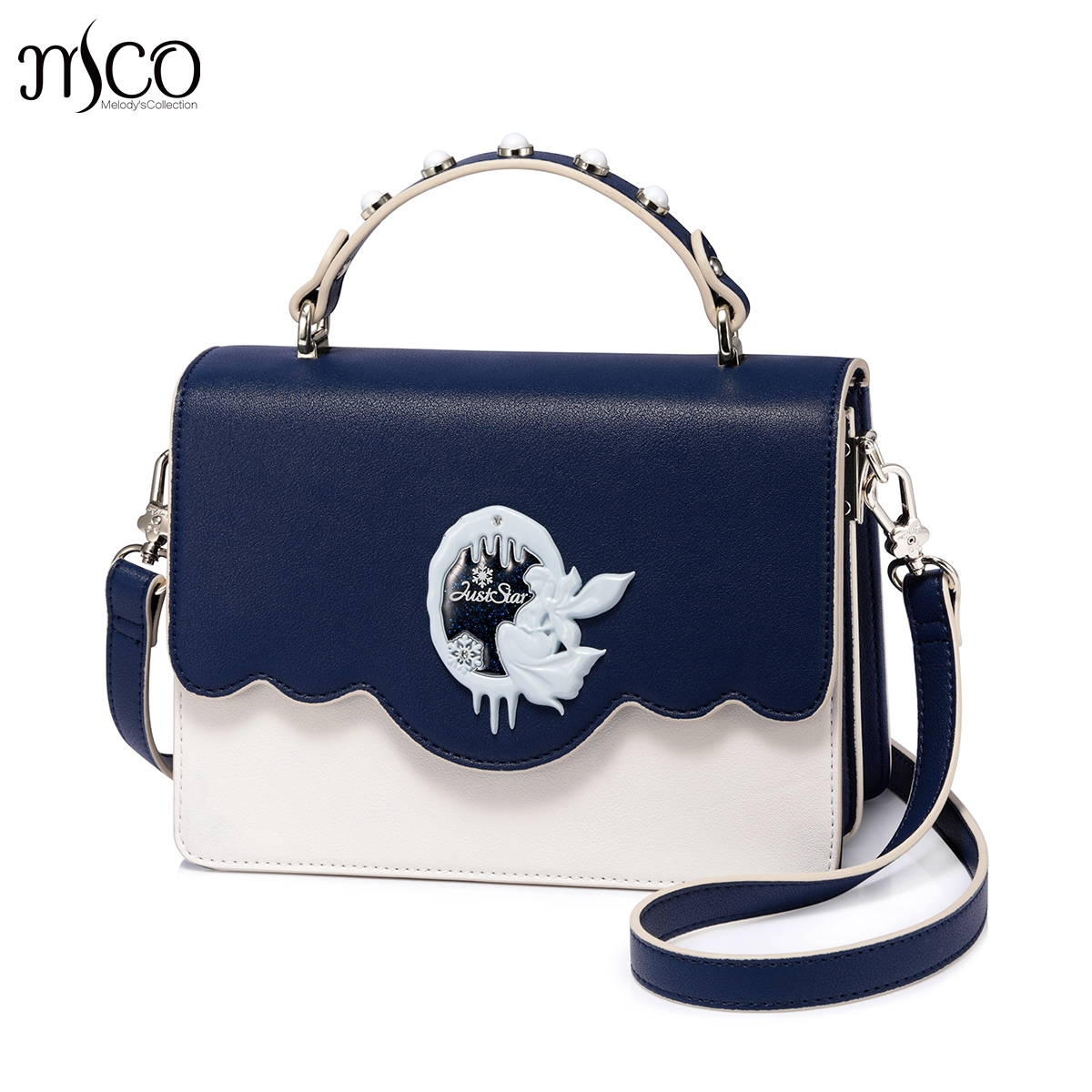 Brand designer Snow Queen Rivet PU leather luxury handbags women shoulder bags crossbody bags Sac a Main femme de marque new 2017 fashion women pu leather shoulder bags ladies patent crossbody bag brand luxury handbags women bags designer sac a main