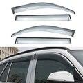 4 unids/lote Styling Car Vent Shade Sun Rain Guardia Cubierta de La Ventana visera Para BMW X1 2012 2013 2014 2015 Accesorios de Alta calidad