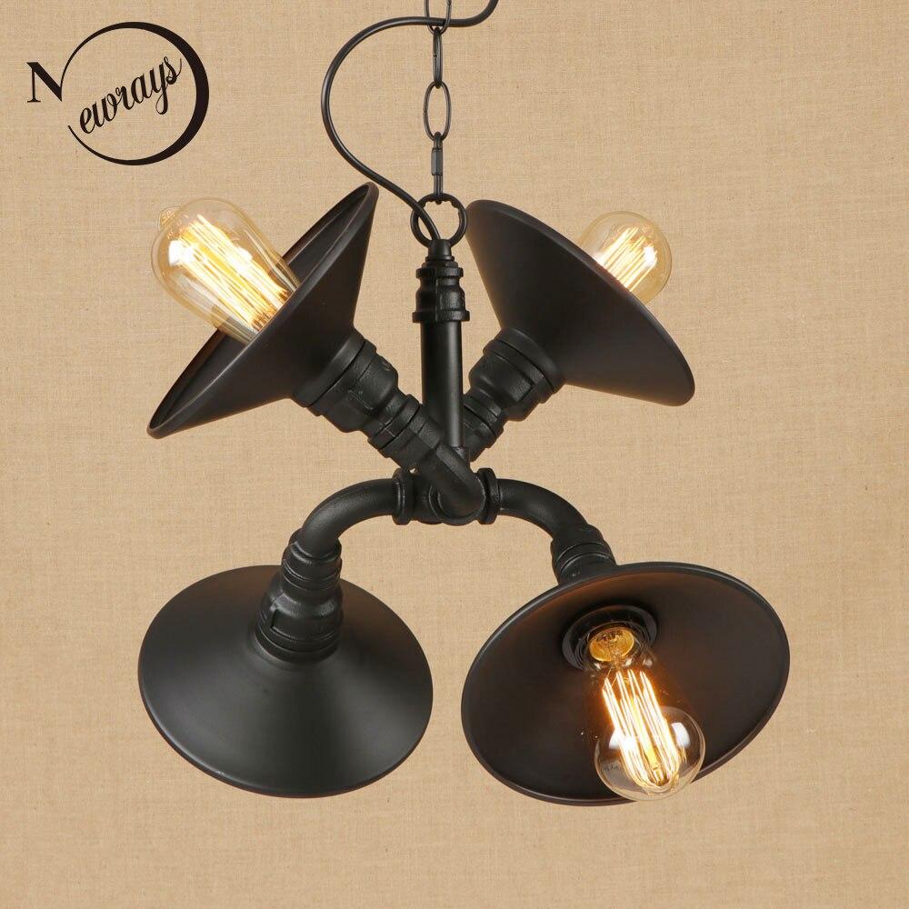 Aliexpress.com : Buy Vintage Iron Painted Pendant Lamp LED