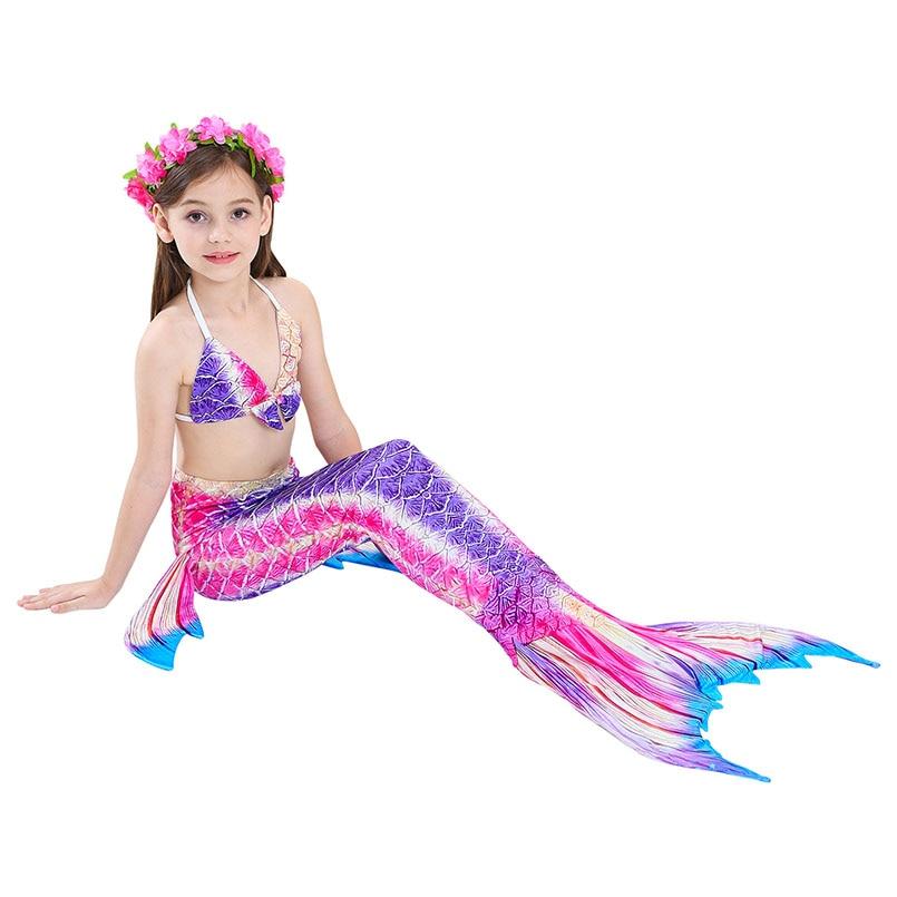 girls mermaid tail swimwear 6