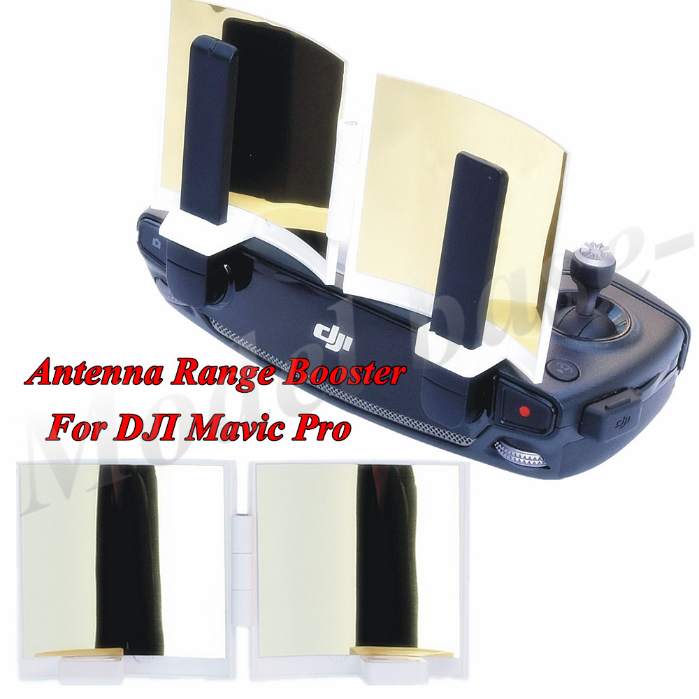 Remote Controller Signal Booster Foldable Antenna Specular Surface with Film Protection High Reflectance For DJI Mavic Pro