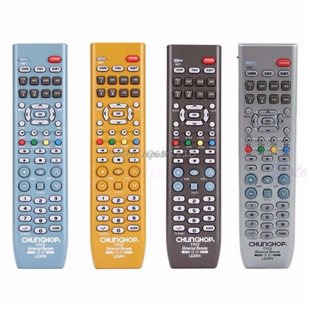 Neue 8in1 Smart Universal Fernbedienung Controller Für TV SAT DVD CD AUX VCR Neue Z09 Drop schiff