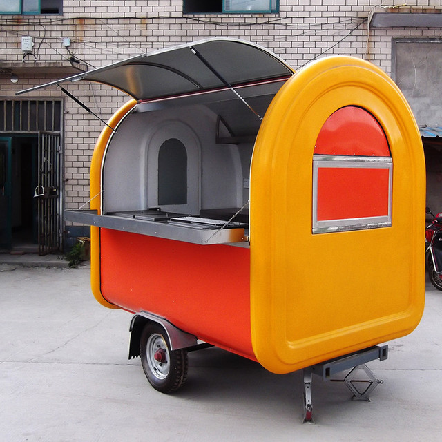 Hot Selling Street Vending Carts/Food truck for sale/ Mobile Fast ...