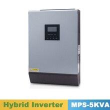 5000VA 4000W pur onduleur à onde sinusoïdale hybride 48VDC entrée 220VAC sortie avec contrôleur de chargeur solaire MPPT 60A