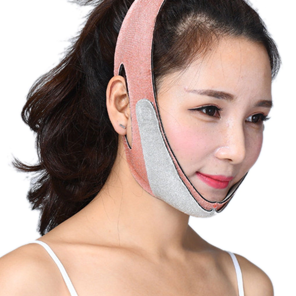 Hot Sale Facial Thin Mask Face V Shaper Slimming Bandage Face Lift Up Sleeping Reduce Double Chin Belt