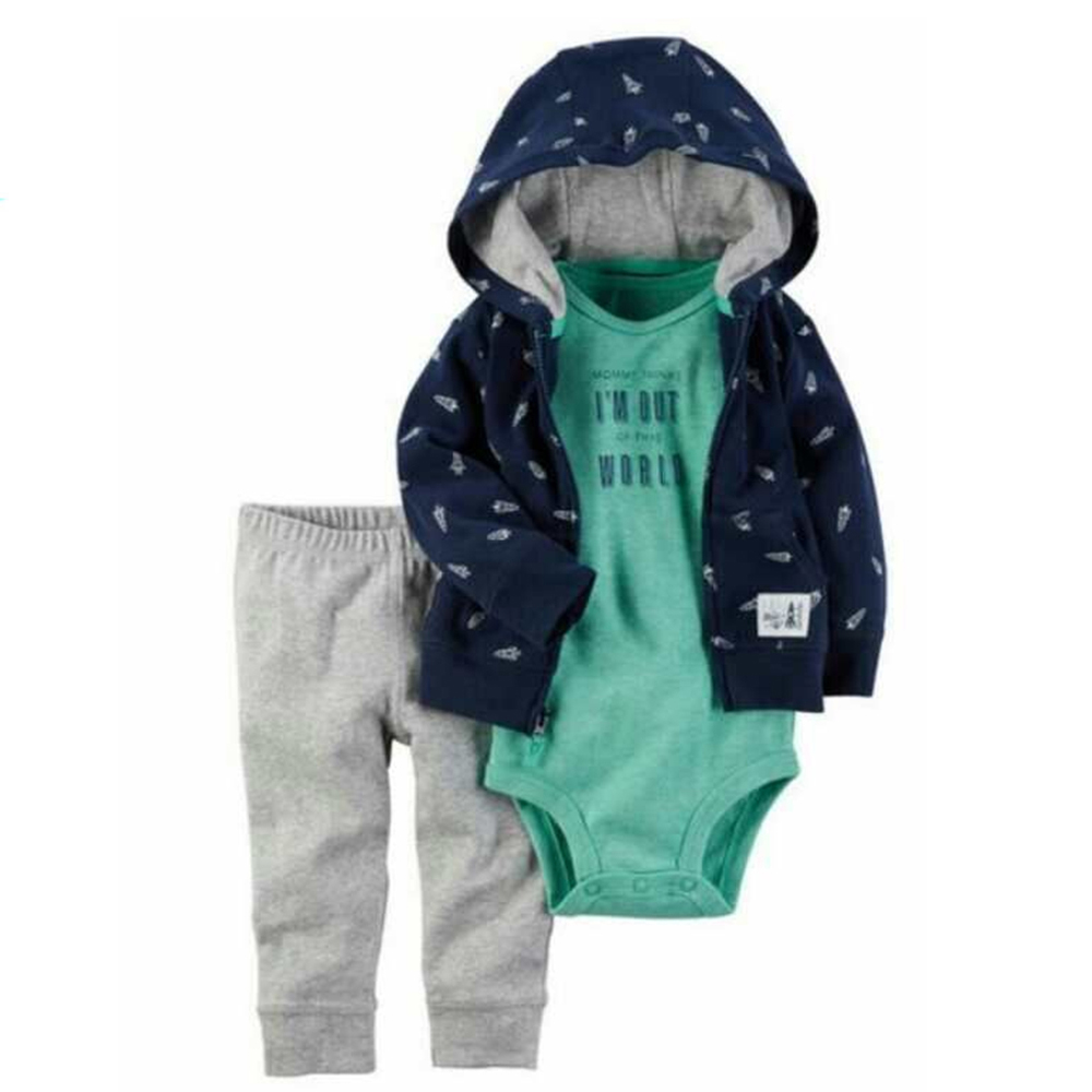 cc42c318a Autumn and winter babykleding kids baby boy clothes coat+bodysuit+pant 3  pcs infant clothing set roupas bebes MFS 4056-in Clothing Sets from Mother  & Kids ...