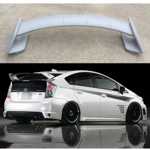 Car Styling ABS Plastic Material Unpainted Color Rear Trunk Boot Wing Rear Lip Roof Spoiler For Toyota Prius 2009-2014