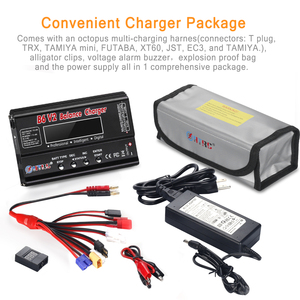 Image 5 - HTRC Balance Charger Imax B6v2 80W 6A LiPo Battery Charger 15V 6A AC For LiIon/LiFe/NiCd/NiMH/High/LiHV RC Charger Discharger