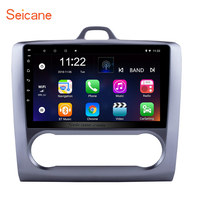 Seicane Android 6.0/7.1/8.1 9 2Din Head Unit WiFi Car Radio GPS Tochscreen Multimedia Player For Ford Focus Exi AT 2004 2011