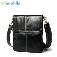 58da30baeba1b Fashion Leather Crossbody Bag Shoulder Men Messenger Bags Small Casual  Designer Handbags Man Bags Leather Men
