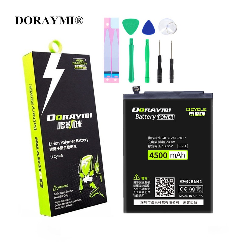 DORAYMI Cell-Phone-Battery Note BN42 BN43 BN35 BN45 Xiaomi Redmi BN41 Bateria Replacement title=