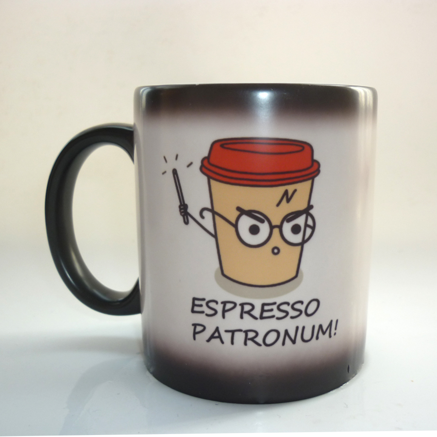 Online Shop Q Version Espresso Patronum Ceramic Heat Reveal Coffee Mugs  Color Change Mug Cup Movie Theme Accessory Gift | Aliexpress Mobile