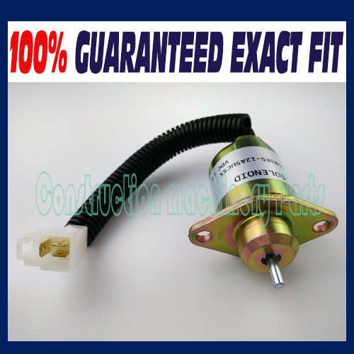 Fuel Shut Off Shutdown Solenoid 17594-6001-4,Kubota,Yanmar,SynchroStart,SA4569T ,Free Fast Shipping fuel shutdown solenoid valve shut off stop f1hz 9n392 a for cummins vw ford 12v