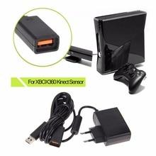 卸売FW1S new euのusb acアダプタ電源XBOX360用のxbox 360用のkinectセンサー