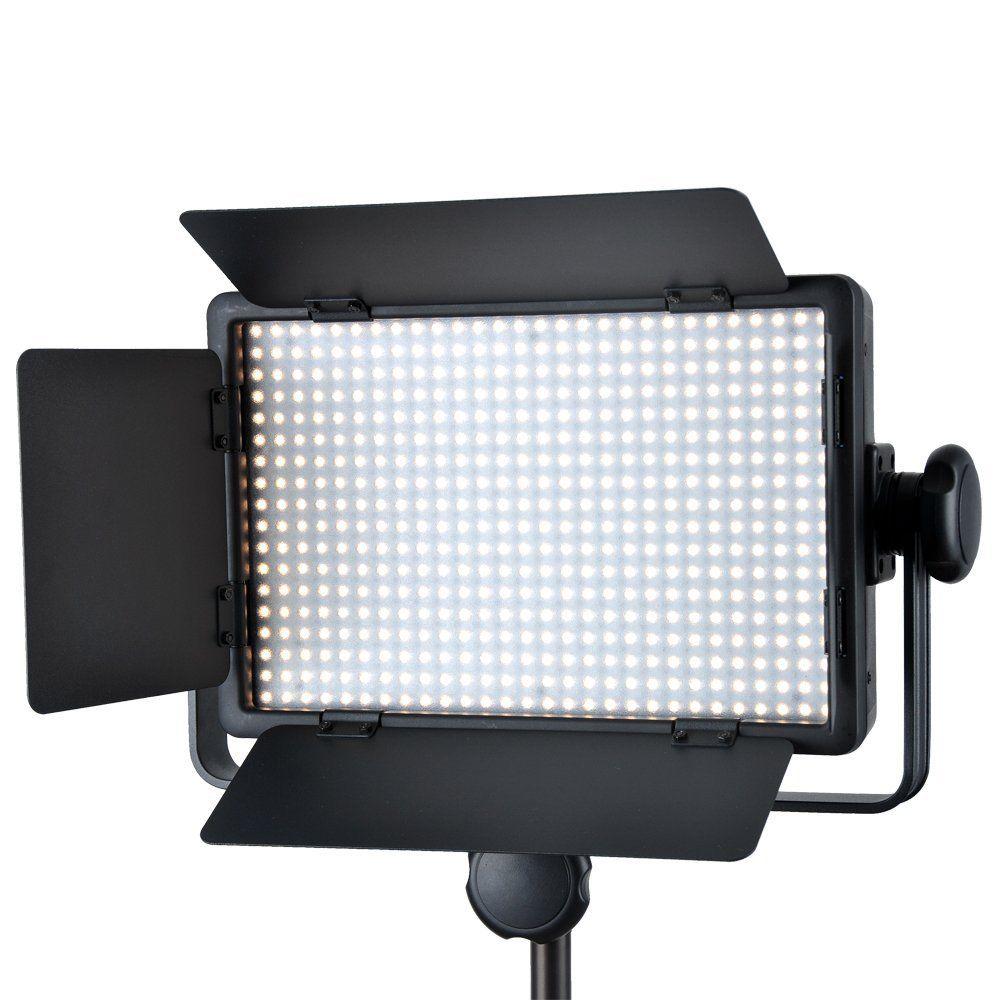 Godox LED500 Studio Video Continuous Light Lamp For Camera Camcorder 3300-5600K godox led500 studio video continuous light lamp for camera camcorder 3300 5600k