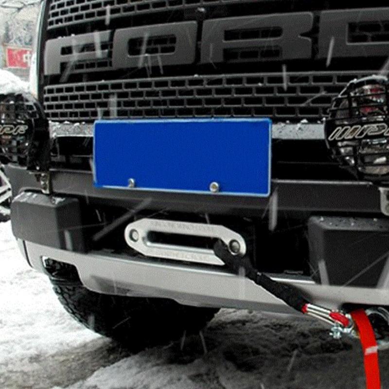 4000lbs Alumimum Hawse Fairlead For Synthetic Winch Rope Cable Lead SUV UTV ATV Parts & Accessories