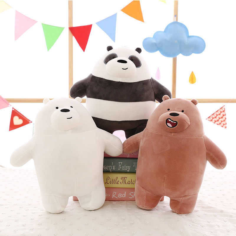 Detail Feedback Questions About Anime We Bare Bears Plush Toy