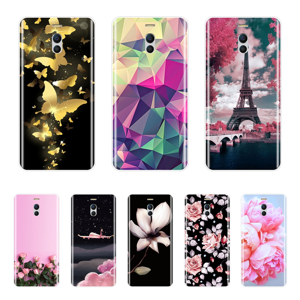 Silicone <font><b>Case</b></font> For <font><b>Meizu</b></font> M6 M5 M3 M2 Note Soft <font><b>TPU</b></font> Fashion Back Cover For <font><b>Meizu</b></font> M6 M6S <font><b>M6T</b></font> M5 M5C M5S M3 M3S M2 Phone <font><b>Case</b></font> image