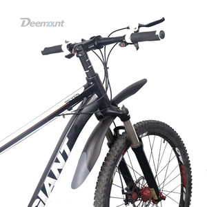 Deemount 1 пара Новое Велосипедное крыло MTB Горный 24 26 27,5 дюймов велосипед грязевые крылья переднее/заднее колесо крыло удобное крепление MDG-006