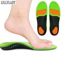 Ортопедическая стелька-ступинатор обувь стельки PU материал плоские ноги спортивные беговые Дышащие стельки для ног мужские женские ортопе...