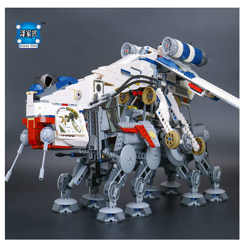 HOT Star Series War The Republic Dropship Set Lepins Building Blocks Bricks Children Toys Educational Figures Toys Gifts